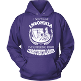 I dont have insomnia I'm suffering from Librocubicularism, Hoodie-For Reading Addicts
