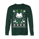 Christmas Ugly Sweatshirt - Gifts For Reading Addicts
