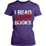 I Read Banned Books Fitted T-shirt - Gifts For Reading Addicts