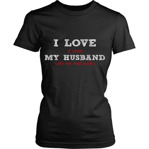 I love my husband-For Reading Addicts