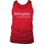 Bibliophile Mens Tank-For Reading Addicts