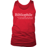 Bibliophile Mens Tank - Gifts For Reading Addicts