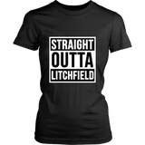 Straight Outta Litchfield Tees - Gifts For Reading Addicts