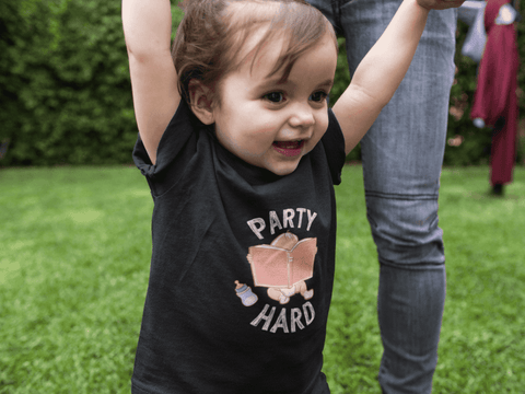 """Party Hard""Toddler T-Shirt"