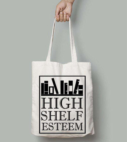 High Shelf Esteem Totes-For Reading Addicts