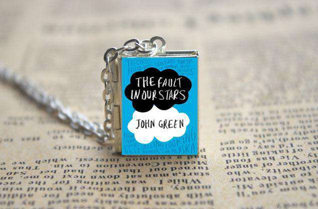 The fault in our stars book cover locket necklace keyring fra the fault in our stars book cover locket necklace keyring aloadofball Images
