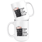 """To read or not to read""15oz white mug - Gifts For Reading Addicts"