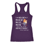 """My heart my life"" Women's Tank Top - Gifts For Reading Addicts"