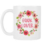 Book Lover Floral Design - Gifts For Reading Addicts