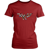 Wonder Women' Women's Fitted T-shirt - Gifts For Reading Addicts