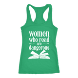 """Women who read"" Women's Tank Top - Gifts For Reading Addicts"