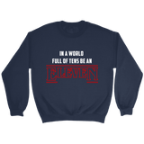 'EleveN' Sweatshirt-For Reading Addicts