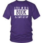 """I Fell Into A Book"" Unisex T-Shirt-For Reading Addicts"