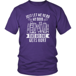 """Just Let Me Read"" Unisex T-Shirt - Gifts For Reading Addicts"