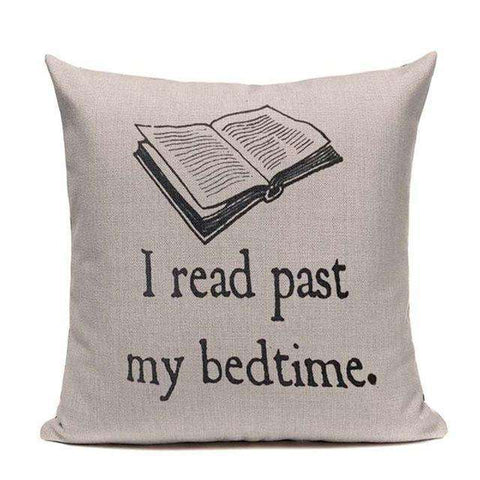 Bookish Quotes Cushion Covers, Color - TC19-For Reading Addicts