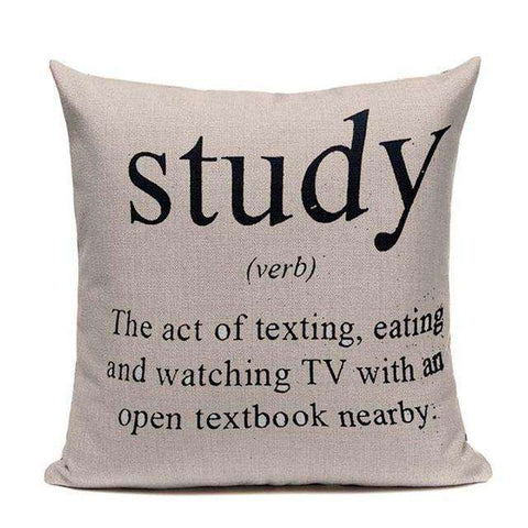 Bookish Quotes Cushion Covers, Color - TC21-For Reading Addicts
