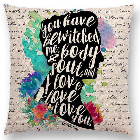 Bookish Quotes Cushion Covers, Color - a022506-For Reading Addicts