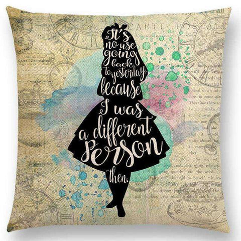 Bookish Quotes Cushion Covers, Color - a022511 - Gifts For Reading Addicts