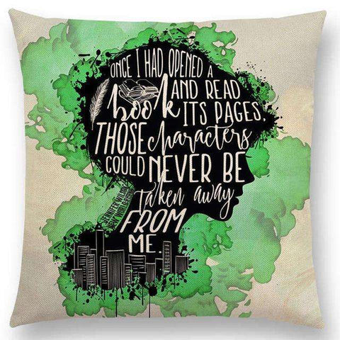 Bookish Quotes Cushion Covers, Color - a022517 - Gifts For Reading Addicts