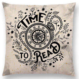 Bookish Quotes Cushion Covers, Color - a022808 - Gifts For Reading Addicts