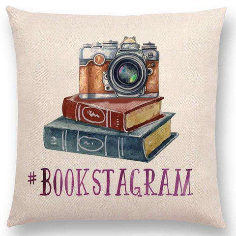 Bookish Quotes Cushion Covers, Color - a022809 - Gifts For Reading Addicts