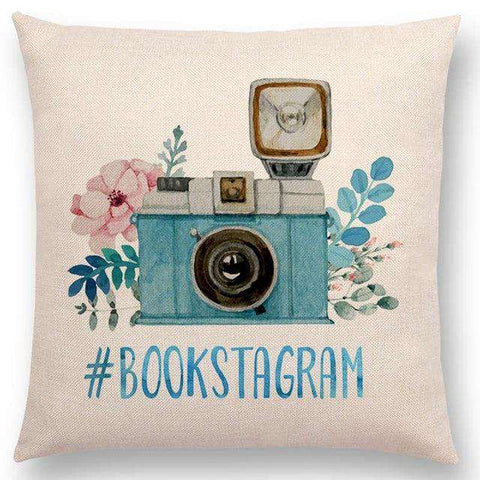 Bookish Quotes Cushion Covers, Color - a022811 - Gifts For Reading Addicts