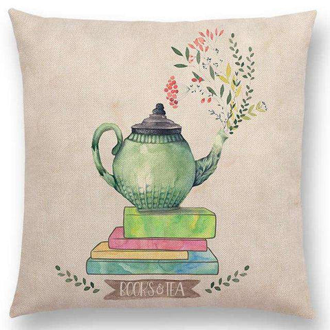 Bookish Quotes Cushion Covers, Color - a022815 - Gifts For Reading Addicts