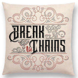 Bookish Quotes Cushion Covers, Color - a022816-For Reading Addicts