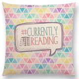 Bookish Quotes Cushion Covers, Color - a022818 - Gifts For Reading Addicts