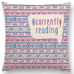 Bookish Quotes Cushion Covers, Color - a022819 - Gifts For Reading Addicts
