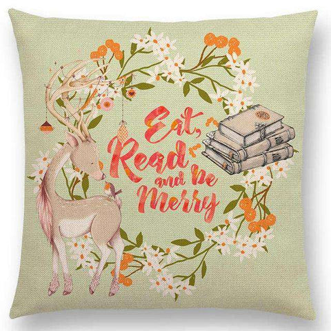 Bookish Quotes Cushion Covers, Color - a022820 - Gifts For Reading Addicts