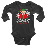 """Bookish Elf""Long Sleeve Baby Bodysuit - Gifts For Reading Addicts"