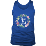 """Time to read"" Men's Tank Top - Gifts For Reading Addicts"