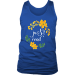 """just read"" Men's Tank Top - Gifts For Reading Addicts"