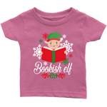 """Bookish Elf""Infant T-Shirt - Gifts For Reading Addicts"