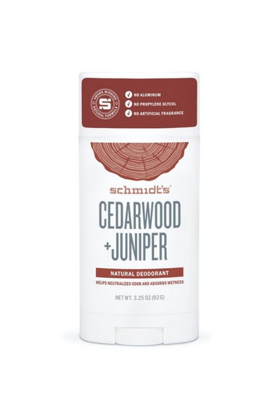 Cedarwood + Juniper Deodorant Stick
