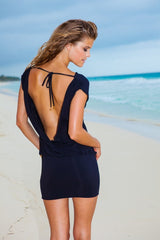 Sauvage - Mon Cheri Resort Black Dress - House of Mirza - 2