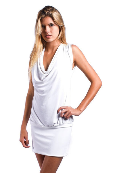 Mon Cheri Resort White Dress