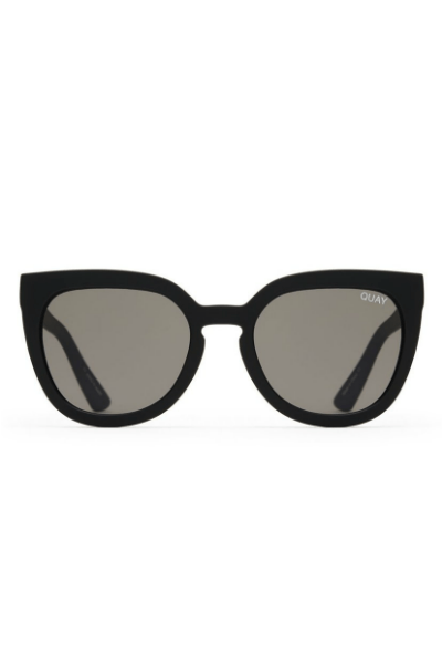 Sunglasses - Noosa - Black W/ Smoke Lens
