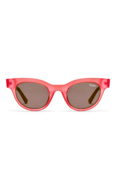 Sunglasses - Star Struck - Rose W/ Smoke Lens