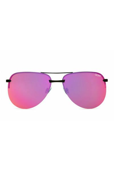 Sunglasses - The Playa - Black W/ Pink Mirror
