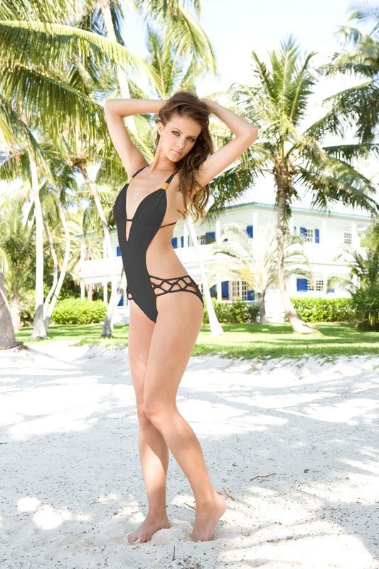 Sauvage - Cutout Spider Black One Piece - House of Mirza - 1