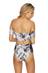 Swimwear - Mod Squad Bikini Black Crop Top