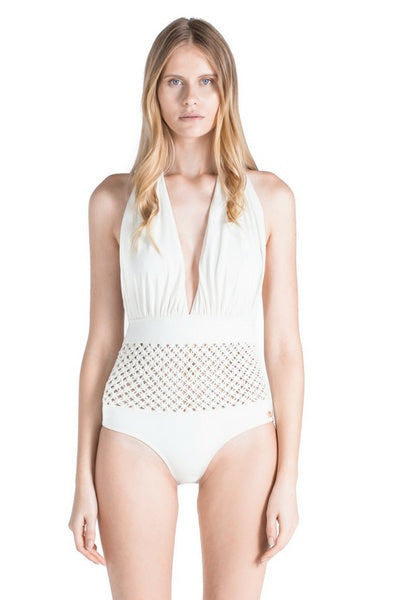 Swimwear - Penelope Cream One Piece