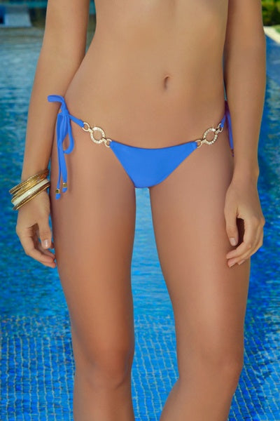 Swimwear - Rich & Pretty Blue Bikini Bottom