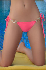 Swimwear - Rich & Pretty Coral Bikini Bottom