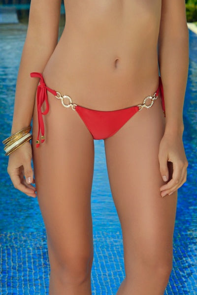 Rich & Pretty Red Bikini Bottom