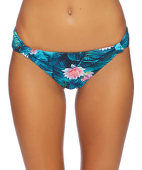 Swimwear - Wild Heart Knotted Teal Bikini Bottom