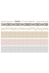 Tribe Tats - Monaco Collection - Armbands & Anywhere 2 Sheet Pack - House of Mirza - 3