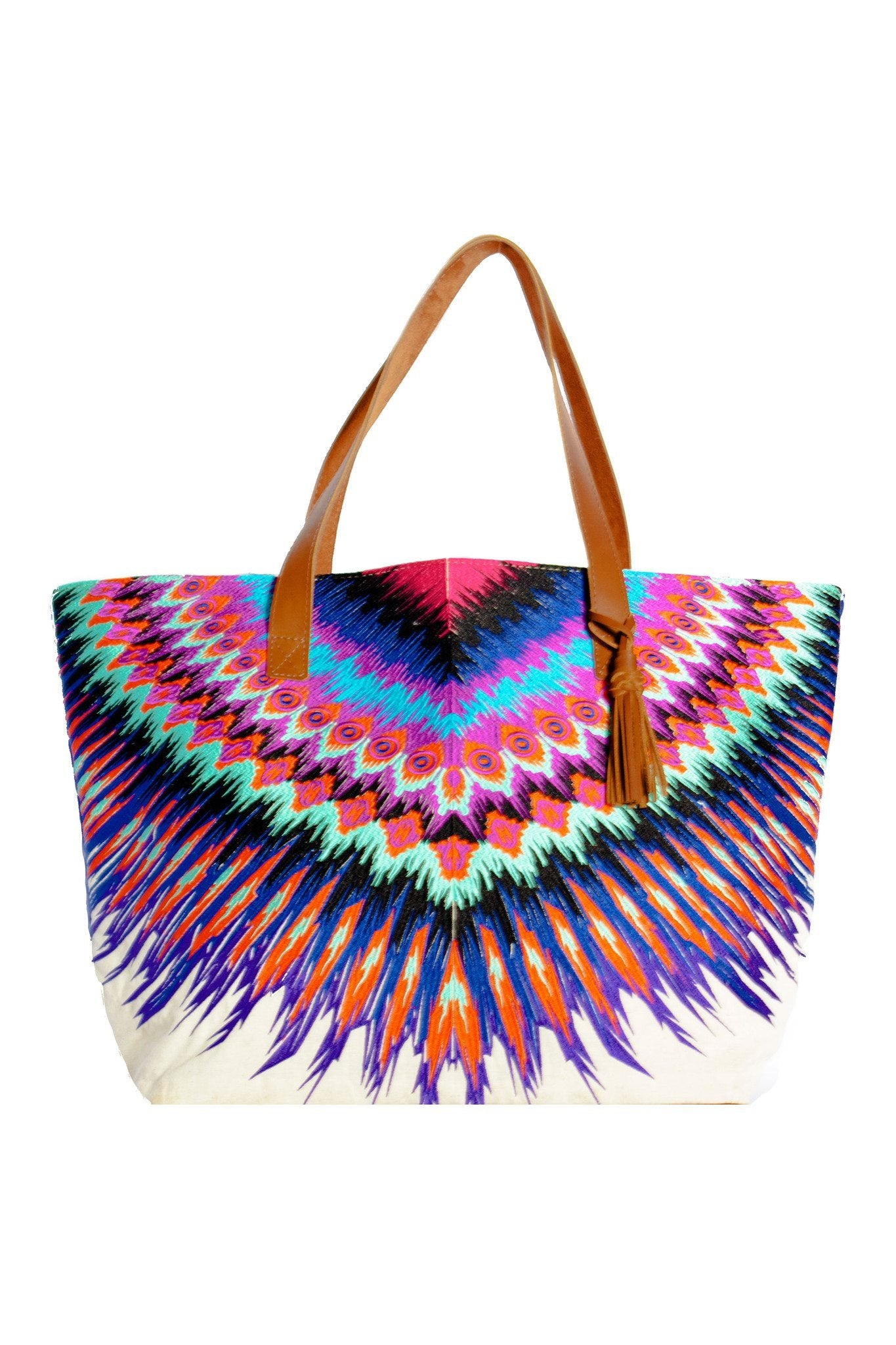 PilyQ - African Rays Tote - House of Mirza